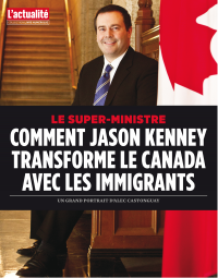 Vignette du livre Le super ministre: comment Jason Kenney change le Canada avec les immigrants