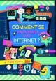 Couverture : Internet en toute sécurité Louie Stowell, Nancy Leschnikoff