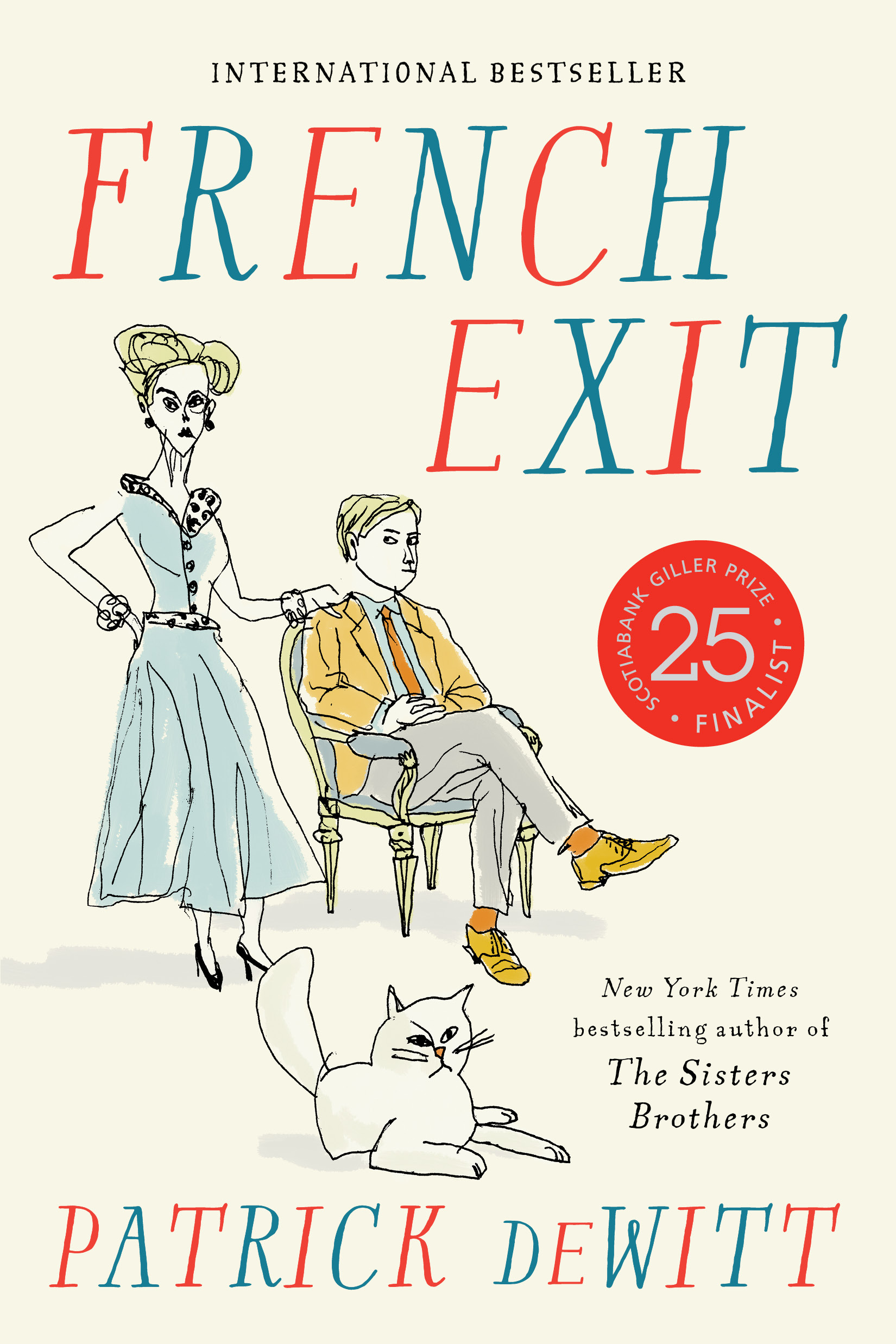 Couverture : French Exit Patrick Dewitt
