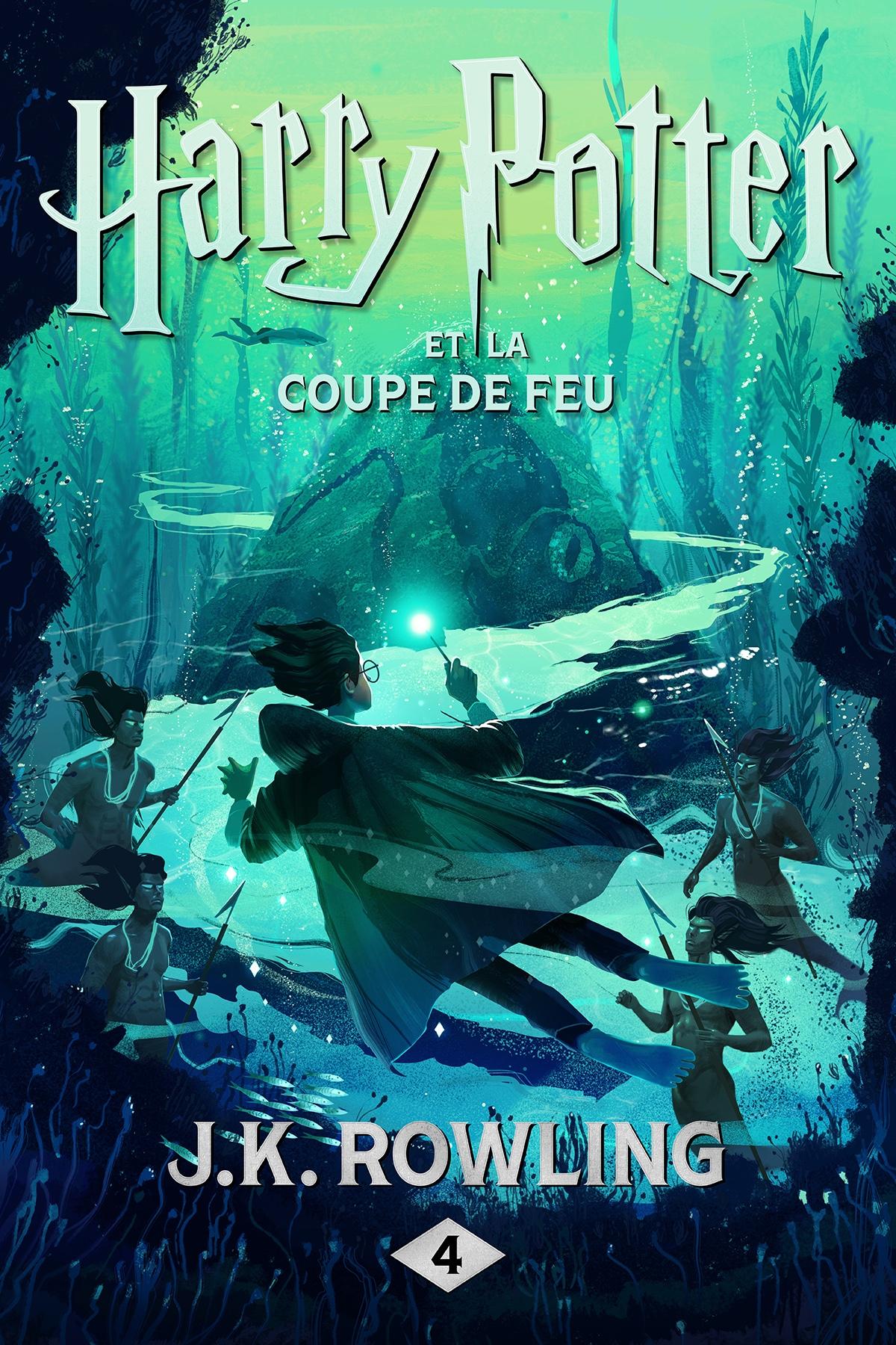 Couverture : Harry Potter T.4 : Harry Potter et la Coupe de feu J.k. Rowling