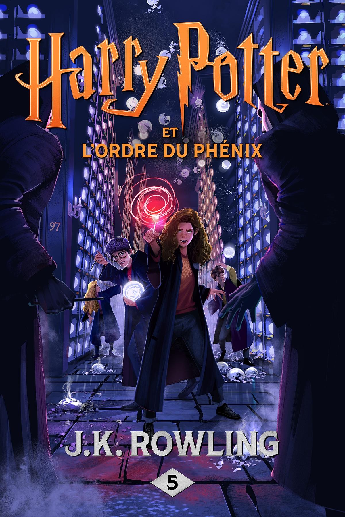 Couverture : Harry Potter T.5 : Harry Potter et l'Ordre du Phénix J.k. Rowling