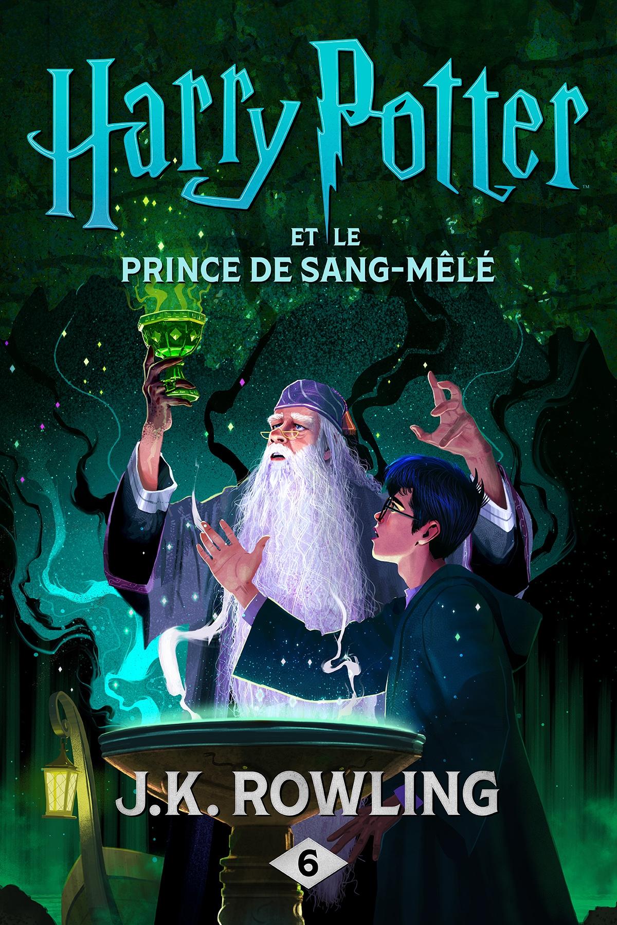 Couverture : Harry Potter T.6 : Harry Potter et le Prince de Sang-Mêlé J.k. Rowling