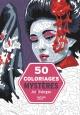 Couverture : 50 coloriages mystères Jérémy Mariez