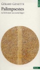Couverture : Palimpsestes: La littérature au second degré Gérard Genette
