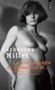 Couverture : Vie sexuelle de Catherine M. (La) Catherine Millet
