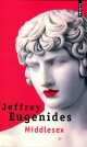 Couverture : Middlesex Jeffrey Eugenides