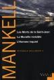 Couverture : Intégrale Wallander T.3 Henning Mankell