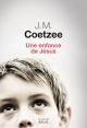 Couverture : Une enfance de Jésus John Maxwell Coetzee
