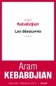 Couverture : Les désoeuvrés Aram Kebabdjian