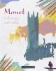 Couverture : Monet: coloriages anti-stress Sandra Lebrun