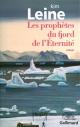 Couverture : Prophètes du fjord de l'Éternité (Les) Kim Leine