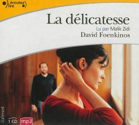Vignette du livre Délicatesse (La) 1 CD mp3  (5h00)