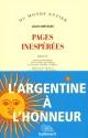 Couverture : Pages inspirées Julio Cortazar, Sylvie Protin