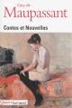 Couverture : Contes et nouvelles Guy De Maupassant, Martine Reid