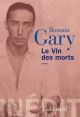 Couverture : Vin des morts(Le) Romain Gary, Philippe Brenot