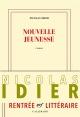 Couverture : Nouvelle jeunesse Nicolas Idier