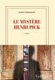 Couverture : Le mystère Henri Pick David Foenkinos