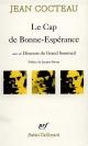 Couverture : Le Discours du Grand Sommeil Jean Cocteau