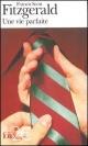 Couverture : Une Vie Parfaite Francis Scott Fitzgerald