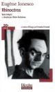 Couverture : Rhinocéros (texte intégral + dossier) Eugène Ionesco, Olivier Rocheteau