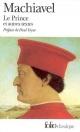 Couverture : Prince et autres textes (Le)  Machiavel