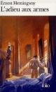 Couverture : Adieu aux Armes (L') Ernest Hemingway