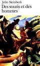 Couverture : Des souris et des hommes John Steinbeck