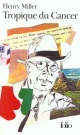 Couverture : Tropique du Cancer Henry Miller