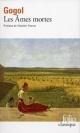 Couverture : Les âmes mortes  Gogol