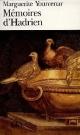 Couverture : Mémoires d'Hadrien Marguerite Yourcenar