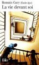 Couverture : La vie devant soi Romain Gary