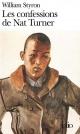 Couverture : Les confessions de Nat Turner William Styron