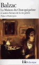 Couverture : Maison du chat-qui-pelote et autres scènes de la vie privée (La) Honoré De Balzac