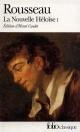 Couverture : Julie, ou La nouvelle Héloïse, tome 1  Rousseau