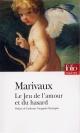 Couverture : Jeu de l'amour et du hasard (Le)  Marivaux