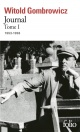 Couverture : Journal T.1 : 1953-1958 Witold Gombrowicz