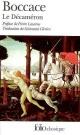 Couverture : Le Décaméron  Boccace