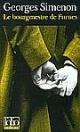 Couverture : Le Bourgmestre de Furnes Georges Simenon
