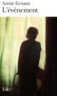 Couverture : Événement (L') Annie Ernaux