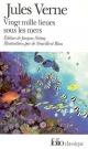 Couverture : Vingt Mille Lieues sous les Mers Jules Verne