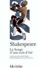 Couverture : Songe d'une nuit d'été (Le)  Shakespeare