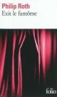 Couverture : Exit le Fantôme Philip Roth