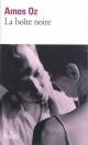 Couverture : La boîte noire Amos Oz