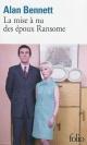 Couverture : La mise à nu des époux Ransome Alan Bennett