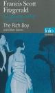 Couverture : Garçon riche (Le) Francis Scott Fitzgerald, Philippe Jaworski
