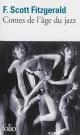 Couverture : Contes de l'âge du jazz Francis Scott Fitzgerald