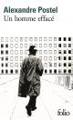 Couverture : Un homme effacé Alexandre Postel