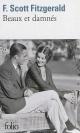 Couverture : Beaux et damnés Francis Scott Fitzgerald