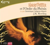 Vignette du livre Harry Potter T.5 : Harry Potter et l'Ordre du Phénix 4 CD mp3