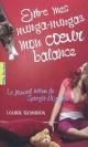 Couverture : Entre mes nunga-nungas mon coeur balance Louise Rennison